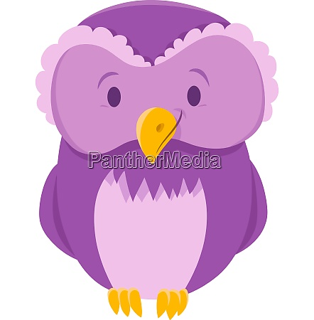 owl bird animal cartoon character