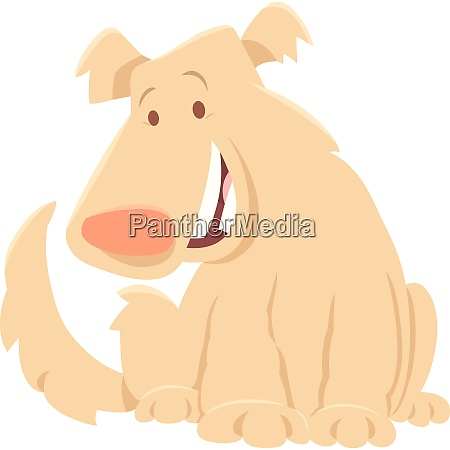 beige shaggy dog cartoon character
