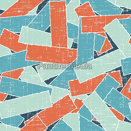 torn scratch paper seamless pattern vector