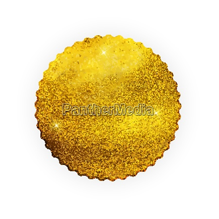 premium qualitaet glaenzend golden label luxus