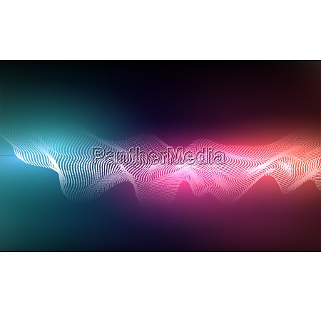 abstract background with dots lines vector