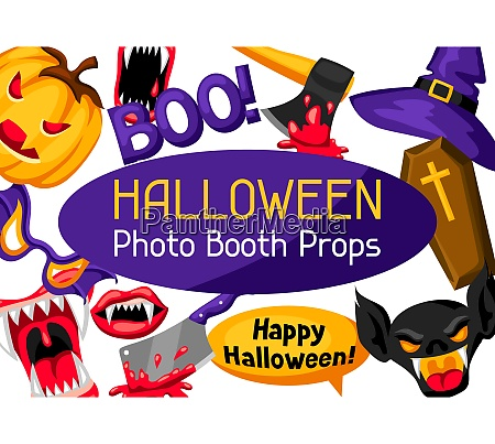 halloween photo booth props accessories for