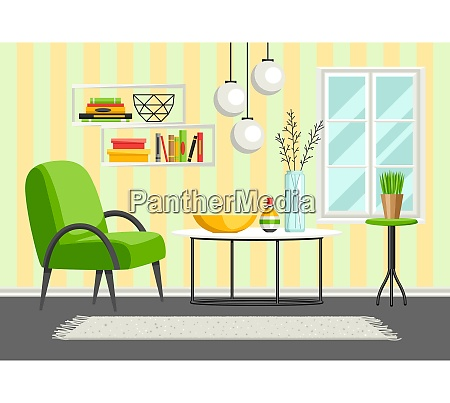 interior living room furniture and home