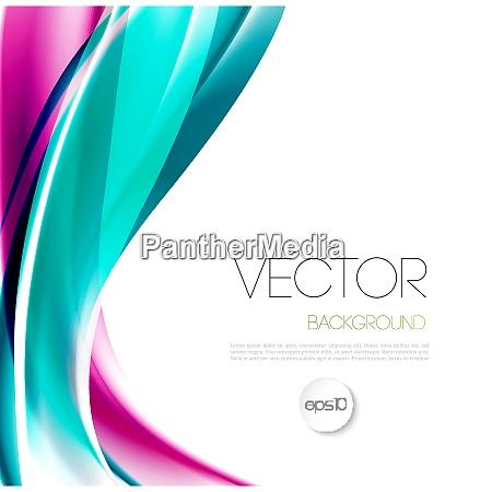 vektor abstrakte welle vorlage hintergrundbroschuere design