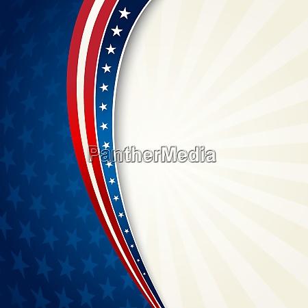 vektor illustration independence day patriotischen hintergrund
