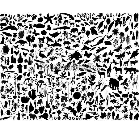 groesste sammlung von collage vektor illustration