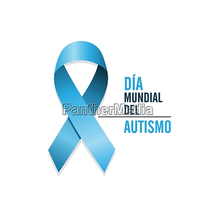 autismus bewusstsein tag welt april vektor