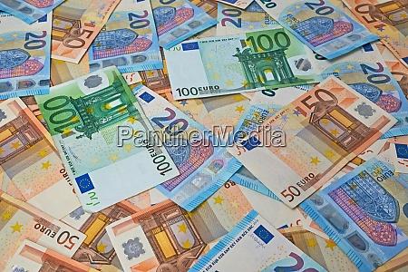 euro banknoten hintergrund