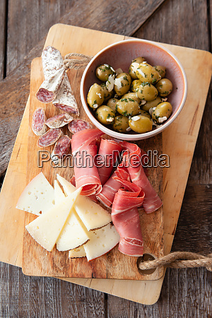 delicious spanish tapas