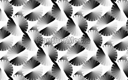 abstraktes monochromes farbradmuster