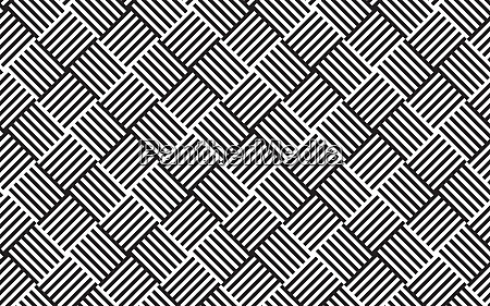abstract monochrome woven grid pattern