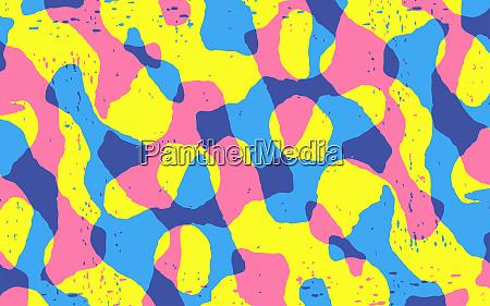 abstrakte hintergruende die squiggle muster verschmelzen