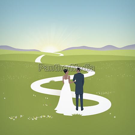braut zugausbildungsweg fuer ehepaar
