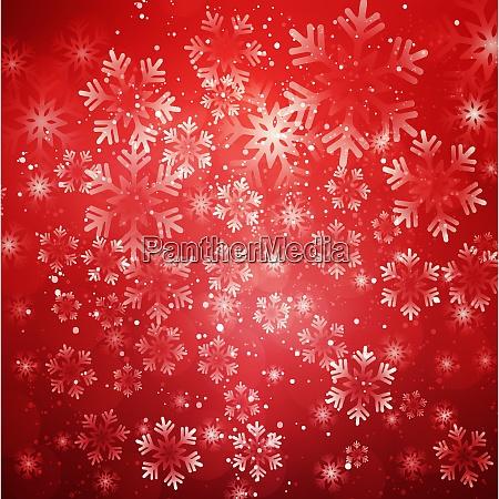 weihnachten schneeflocken hintergrund vektor illustration abstrakte