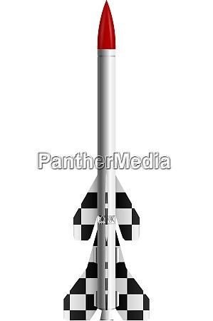 zweistufige rakete