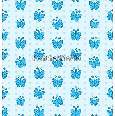 illustration seamless pattern with hand drawn