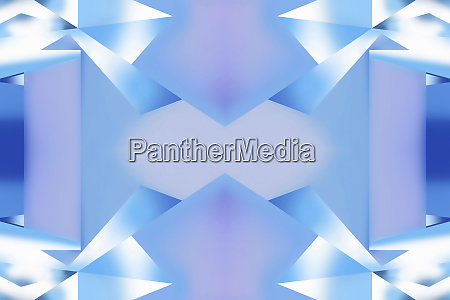 abstract blue and white geometric pattern