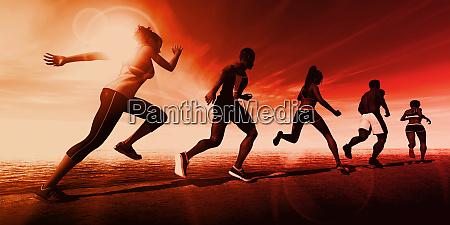 sport abstrakt hintergrund biotech biotechnologie technologie