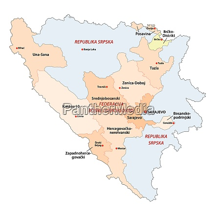 bosnia and herzegovina administrative and political