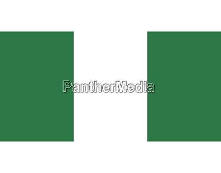 nigeria nationalflagge