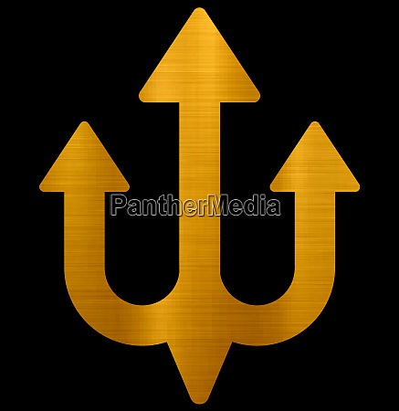 shiva trident hindu sacred golden universe