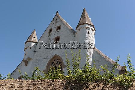 schlosskirche mit mittelalterlicher stadtmauer in ober