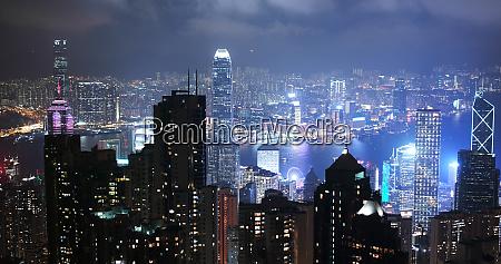 victoria peak hong kong 06 november