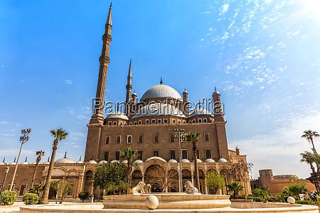 moschee von muhammad ali zitadelle kairo