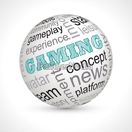 gaming themenbereich mit keywords