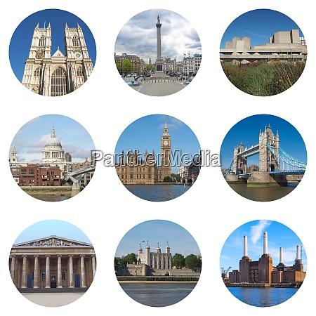 londoner wahrzeichen collage