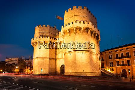 serrano towers in valencia