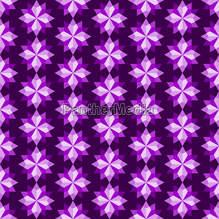 violett abstrakte rhomboid oder diamant nahtlose