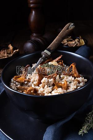 kaszotto polish risotto from barley groats