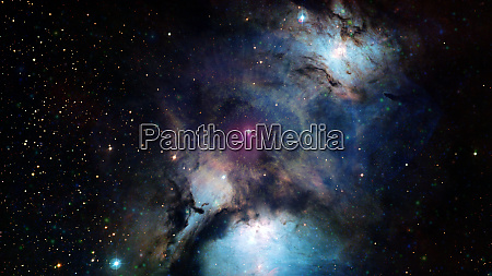 deep space kunst galaxien nebel und