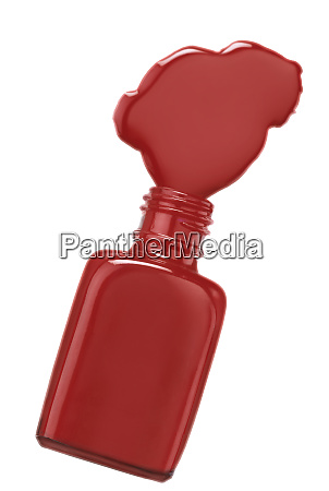 red, color, nail, polish, bottle - 26894058