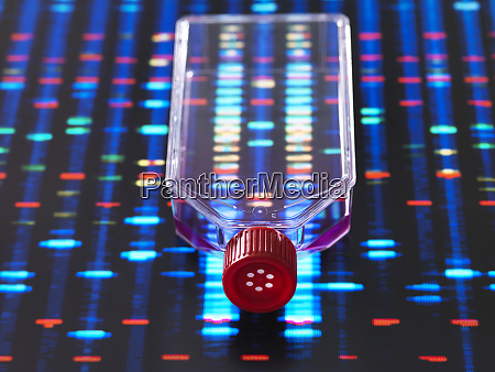genetic engineering culture jar with a