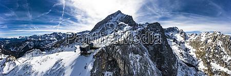 germany bavaria mittenwald wetterstein mountains alpspitze
