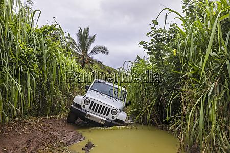 usa hawaii kauai off road vehicle