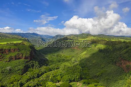 usa hawaii kauai hanapepe valley aerial
