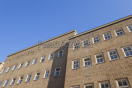germany berlin mitte facade of indoor