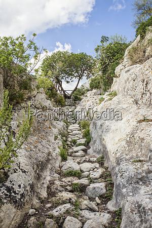 sicily syracuse province noto antica cava
