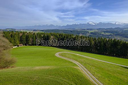germany bavaria upper bavaria chiemgau view