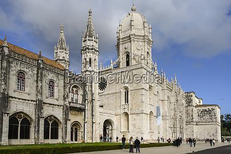 jeronimos kloster lissabon lisboa region portugal