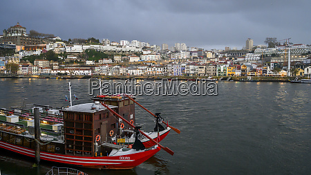 douro river with a view of