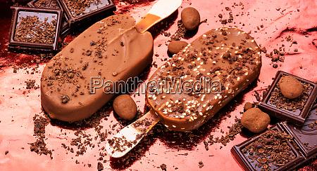 schokolade eis lolly