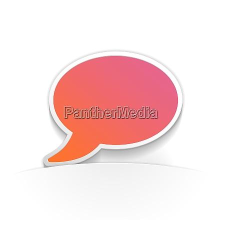 talk symbolpapier