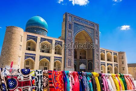 buchara usbekistan zentralasien seidenstrasse architektur