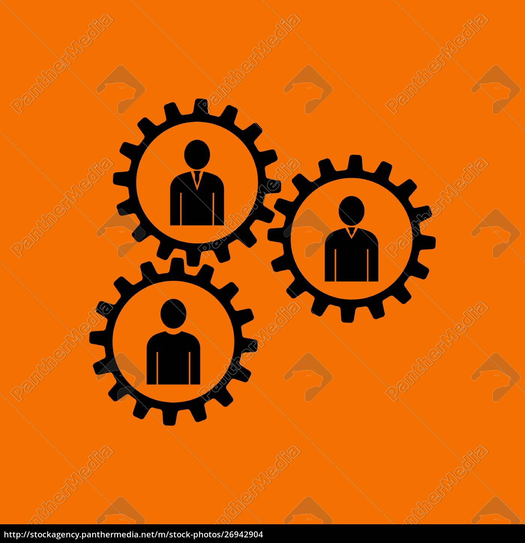 teamwork, icon - 26942904