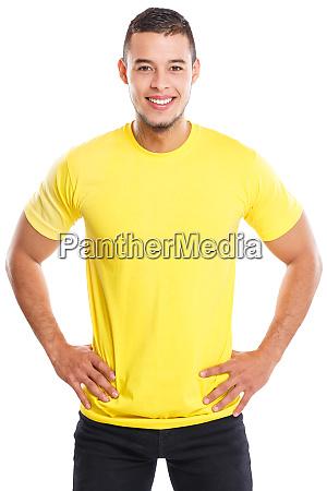junge, lateinische, mann, lächelnd, glücklich, porträt - 26948008