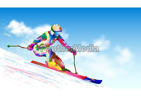 skisportler